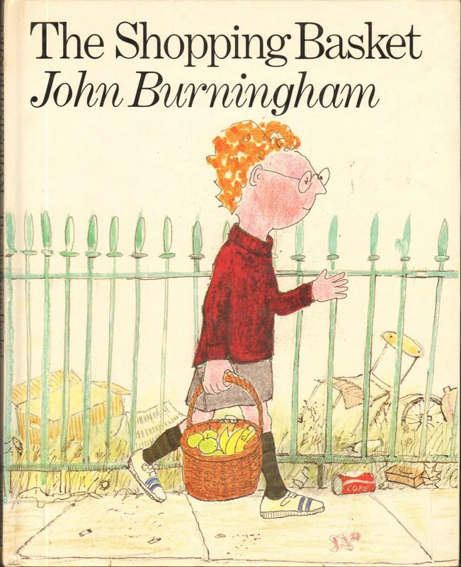 THE SHOPPING BASKET Burningham, John [ ] [Hardcover] Hard Cover. Very Good+. FIRST AMERICAN EDITION. 32 pgs, boards. Steven's mother sends him to the store to run some simple errands but he runs into unexpected obstacles on the way home.