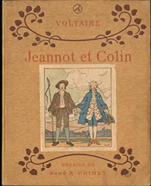 JEANNOT ET COLIN: Voltaire, Illustrated by Rene X. Prinet