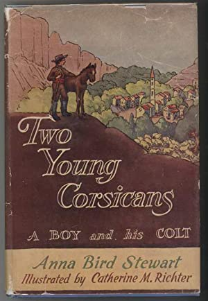 TWO YOUNG CORSICANS A Boy and His Colt.