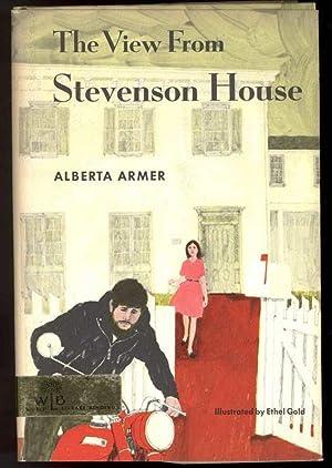 THE VIEW FROM STEVENSON HOUSE.: Armer, Alberta.