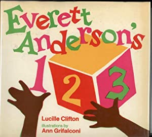 EVERETT ANDERSON'S 1 2 3: Clifton, Lucille, Illustrated by Ann Grifalconi