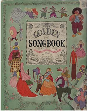 GOLDEN SONGBOOK: Wessells, Katharine, Illustrated by Gertrude Elliott