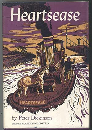 HEARTSEASE: Dickinson, Peter, Illustrated by Nathan Goldstein