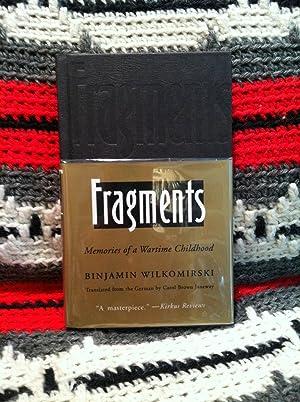 Fragments: Memories of a Wartime Childhood: Binjamin Wilkomirski