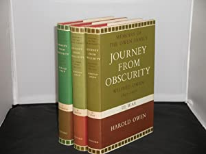 Journey from Obscurity Wilfred Owen 1893-1918 Three: Harold Owen