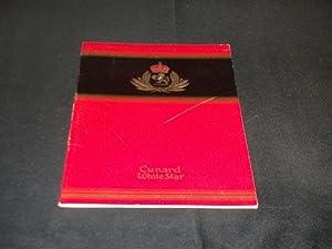 "Cunard White Star Line R.M.S. ""Queen Elizabeth"" List of Passengers First Class New York ..."