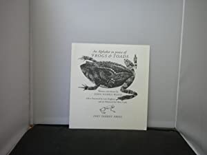 Inky Parrot Press Prospectuses : An Alphabet in Praise of frogs and Toads Written & Drawn by John...