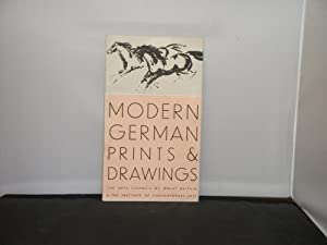 Modern German Prints and Drawings, The Arts Council of Great Britain and The Institute of Contemp...
