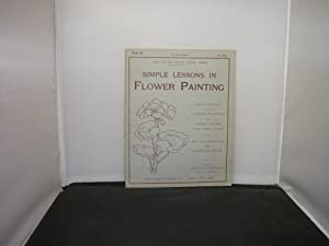 Vere Foster's Water-colour Series : Simple Lessons in Flower Painting ( Part 3 only of 4 Parts Pu...