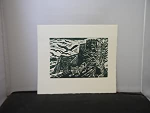 The Acorn Press of Hellmuth Weissenborn - Linocut from