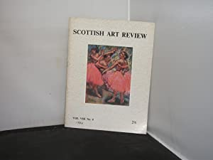 Scottish Art Review Volume 8, No 4 1962 article subjects include Degas' Lenses by Christopher Sma...