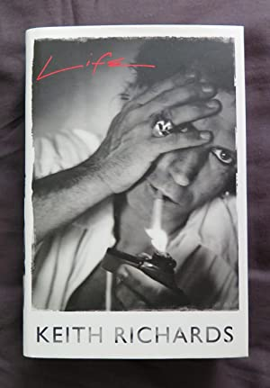 Life: Keith Richards HAND SIGNED UK FIRST: Richards, Keith