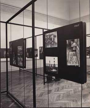 Cartier-Bresson: Installation of Photographs. Cartier-Bresson. Good Two original photographs of the exhibition made for the museum.