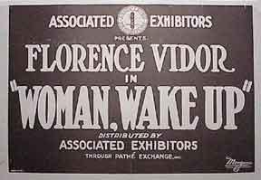 Woman, Wake Up. Vidor, Florence. Good