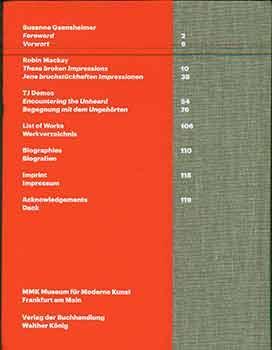 Florian Hecker: Event, Stream, Object. (Catalog of the exhibition held at MMK Museum für Moderne Kunst, Frankfurt am Main, May 8-Aug. 22, 2010.) - Florian Hecker; Susanne Gaensheimer; Sophie von Olfers.