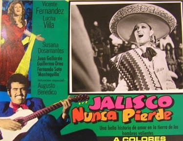 Jalisco Nunca Pierde Movie Poster Cartel De La Película De