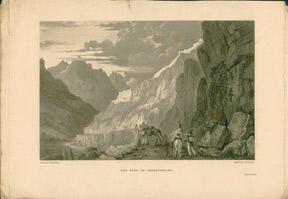 The Fort of Fenestrelles. Switzerland,,: Brockedon, William.