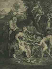 La Sainte Vierge.: Tardieu, Nicolas after André Luigi d'Assise.