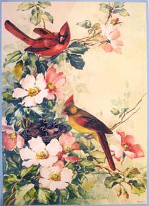 Bird and Blossom by Sibal. (532-B - 534-B).