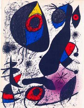 Lithograph 1 from Miró à l'Encre by: Miró, Joan.