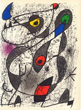 Lithograph 2 from Miró à l'Encre by: Miró, Joan.