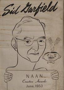 Sid Garfield. NAAN Creative Awards June, 1953.