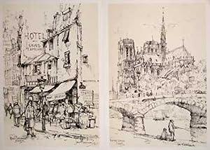 Parisian Sketches.: Donald Art Co.,