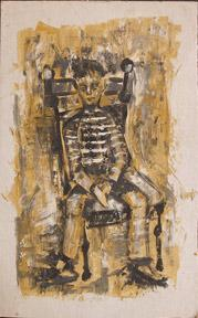 Seated boy.