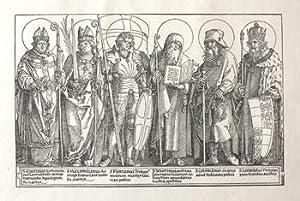 Die Schutzheiligen von Österreich.: Dürer, Albrecht.
