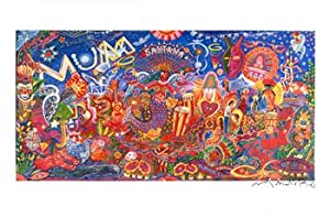 Mumbo Jumbo. Inspiration Carlos Santana for River of Colors.