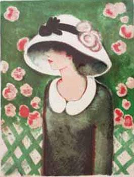 La Roseraie. The Rose Garden.: Cassigneul, Jean-Pierre.