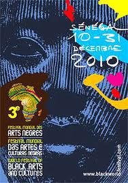 Poster for Sénégal Third World Festival of Black Arts and Cultures - 3e Festival Mondial des Arts...