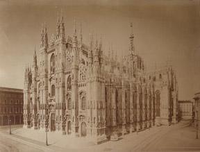 3818. a Milano Cattedrale.: Brogi, Giacomo.