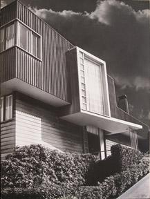 Modern house in San Francisco , circa 1950.