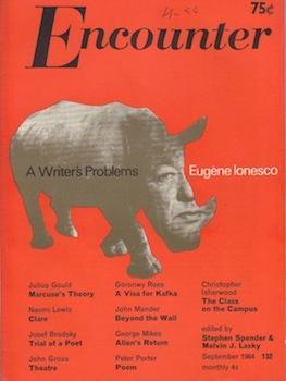 Encounter (Vol. XXIII, No. 3, September 1964).: Spender, Stephen ; Lasky, Melvin J. (eds. ) ; Anne ...