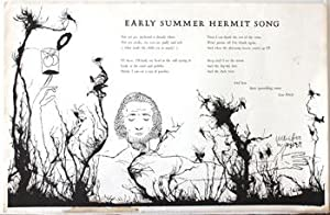 Early Summer Hermit Song.: WELCH, LEW.