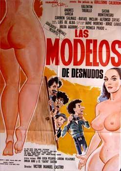 Las modelos de desnudos. Con Hilda Aguirre, Luis Almeida, Víctor Manuel Castro, Luis de Alba (...