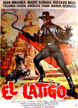 El Látigo. Con Juan Miranda, Gustavo Rojo,: Crevenna, Alfredo B.