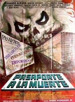 Pasaporte a la muerte. Con Hilda Aguirre, Fernando Almada, Rosita Bouchot, Narciso Busquets. (...