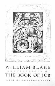 Illustrations of The Book of Job (David Goines after William Blake).