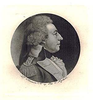 Portrait of Joseph Bloomfield (Governor of New Jersey 1801-1812) as a General.: Saint-Mémin, ...
