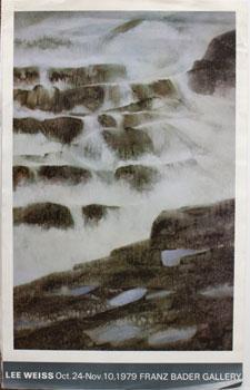 Recent Watercolors. Lee Weiss Oct. 24-Nov. 10,1979: Weiss, Lee.