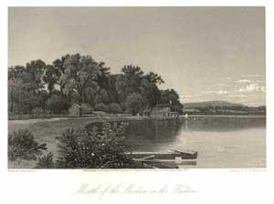 Mouth of the Moodna on the Hudson.: Wellstood, G. W. after D. Johnson.