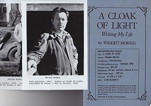 A Cloak of Light: Writing My Life.: Morris, Wright.