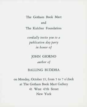 John Giorno Abebooks