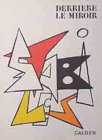 Derrière le Miroir. DLM #141. Calder.: Calder, Alexander.