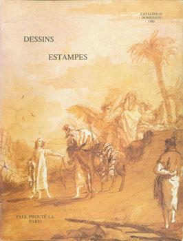 Dessins - Estampes. Catalogue Domenico. 1980.: Paul Prouté S.A.