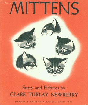 Dust-Jacket for Mittens.: Newberry, Clare Turlay.