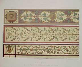 Mantua. Friese im Marmorsaal des Palazzo Ducale (XVI Jahrh.): Meurer, M.