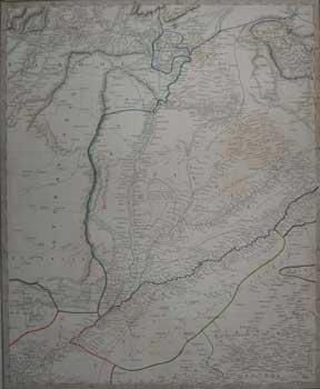 Punjab with part of Afghanistan Map.: Walker, J. & C.